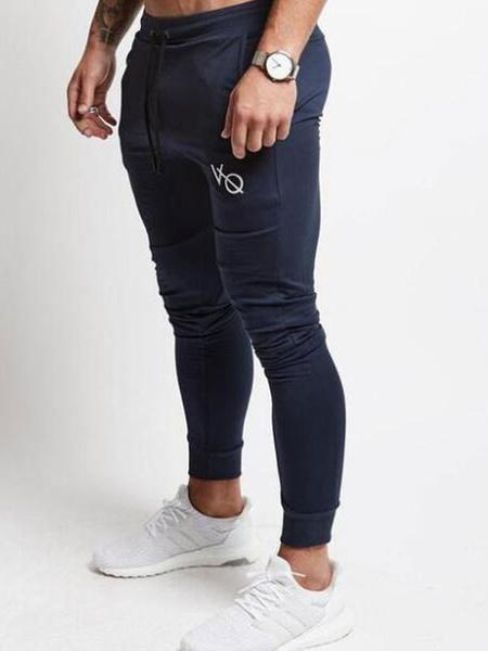 Milanoo Pantalones de entrenamiento para hombres Pantalones deportivos ligeros de entrenamiento deportivo