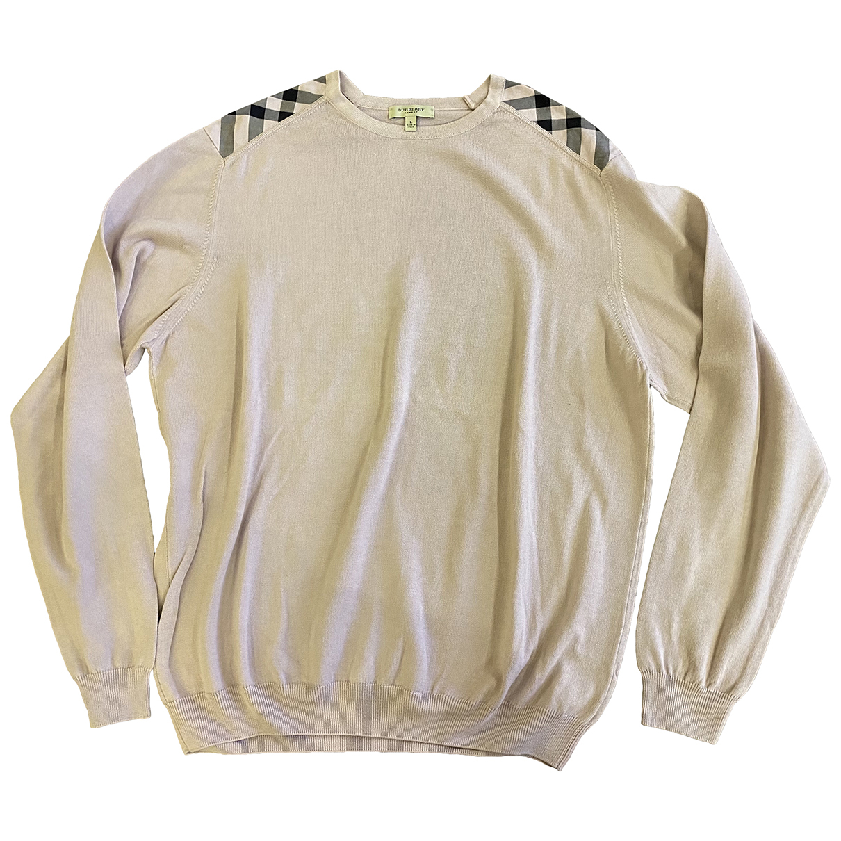 Burberry \N Pullover.Westen.Sweatshirts  in  Lila Baumwolle