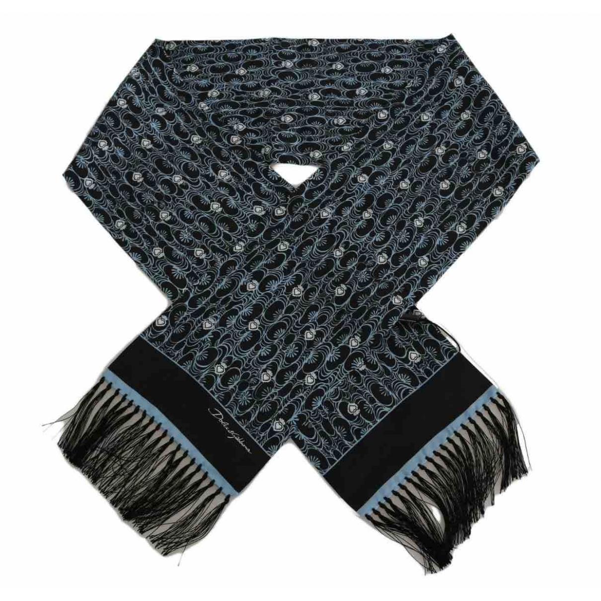 Dolce & Gabbana - Cheches.Echarpes   pour homme en soie - bleu