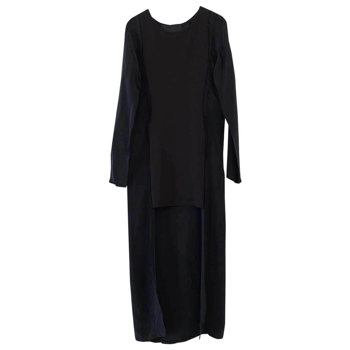 Avelon \N Kleid in  Schwarz Baumwolle
