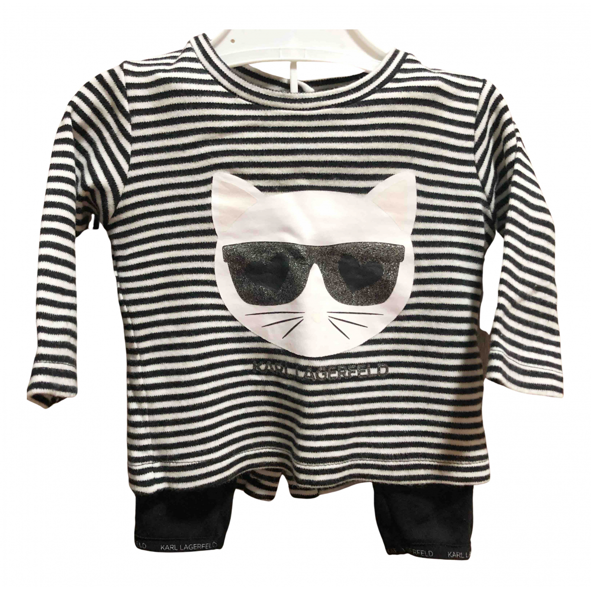 Karl Lagerfeld - Les ensembles   pour enfant en coton - noir
