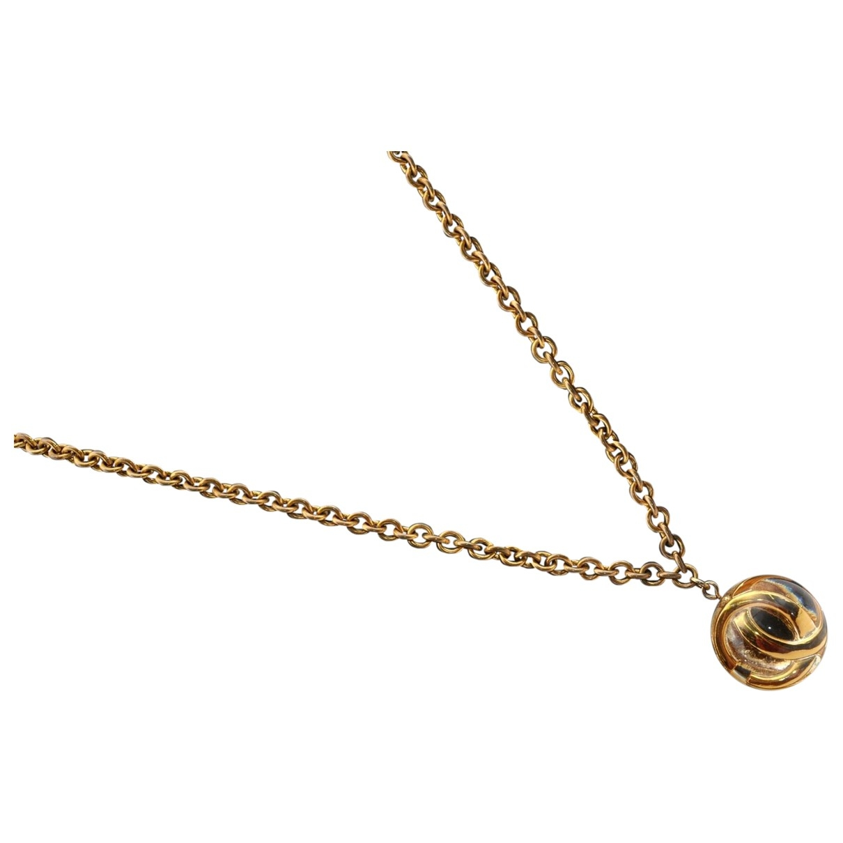 Chanel CC Gold Gold plated necklace for Women \N