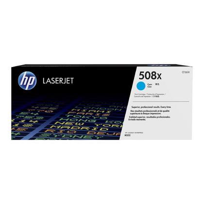 HP 508X CF361X cartouche de toner originale cyan haute capacité 9500 Pages
