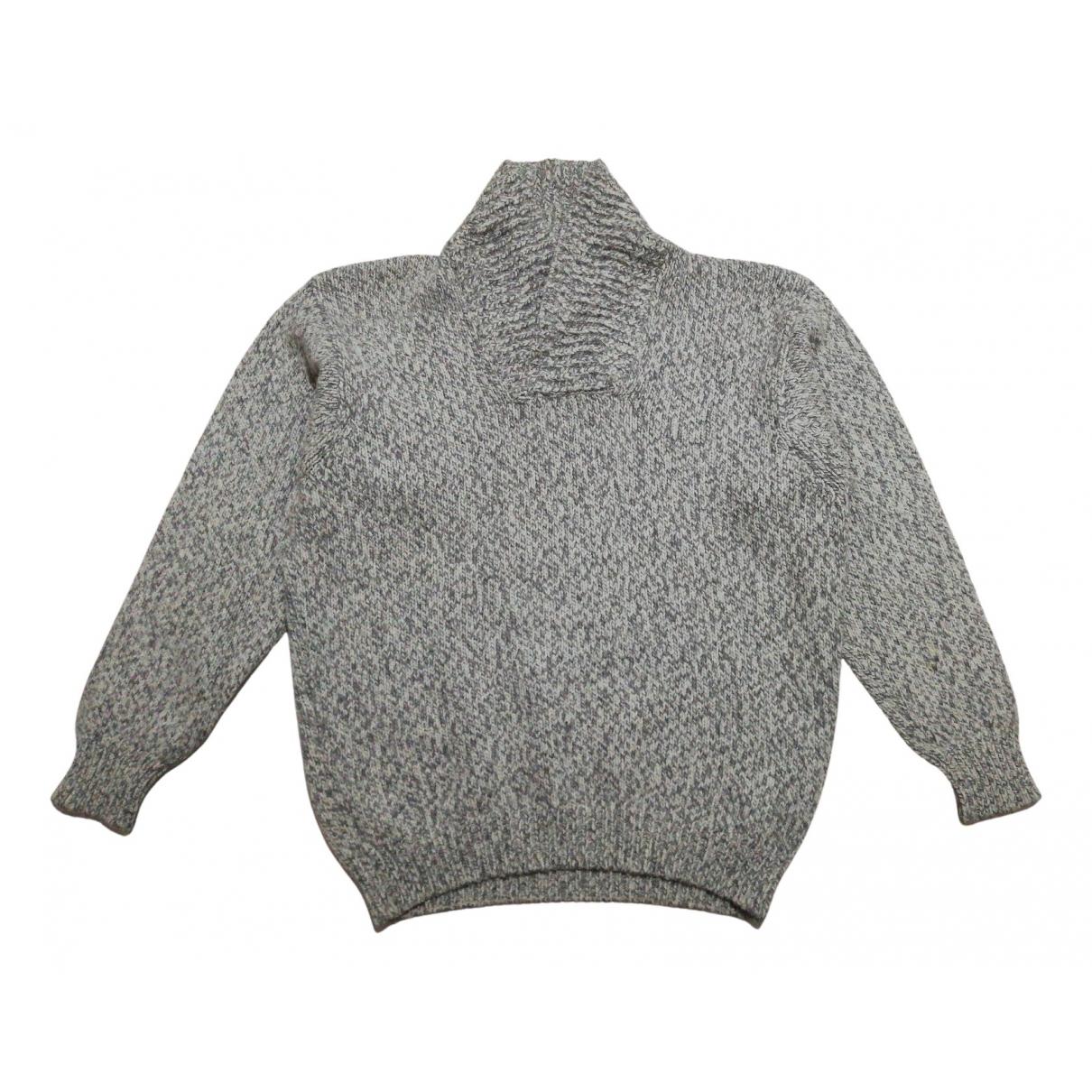 Fay N Grey Wool Knitwear & Sweatshirts for Men 52 IT