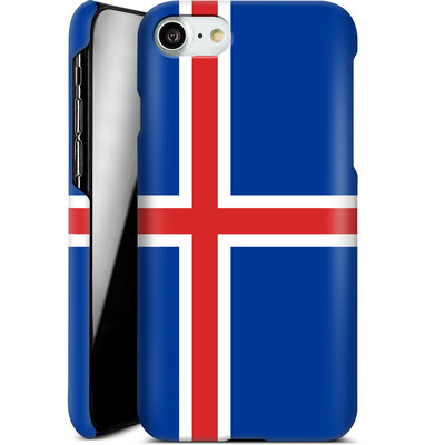 Apple iPhone 7 Smartphone Huelle - Iceland Flag von caseable Designs