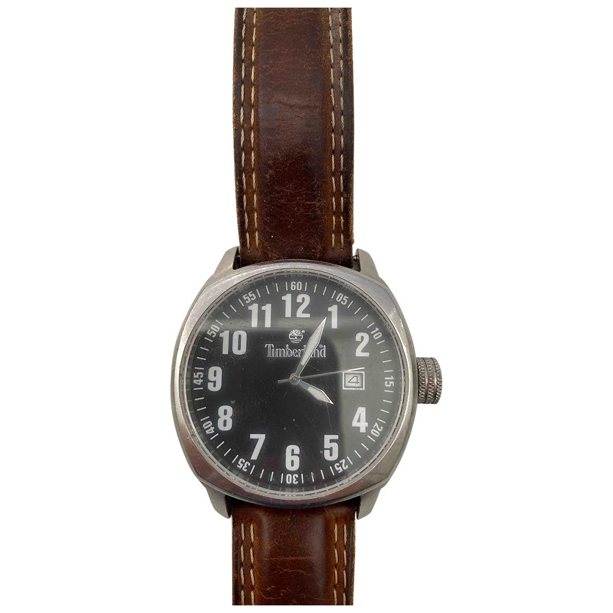 Timberland \N Uhr in  Braun Stahl