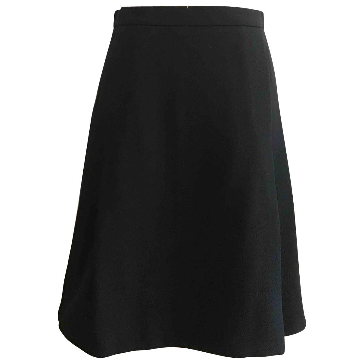 Louis Vuitton \N Rocke in  Schwarz Wolle