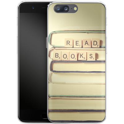 OnePlus 5 Silikon Handyhuelle - Read Books von Joy StClaire
