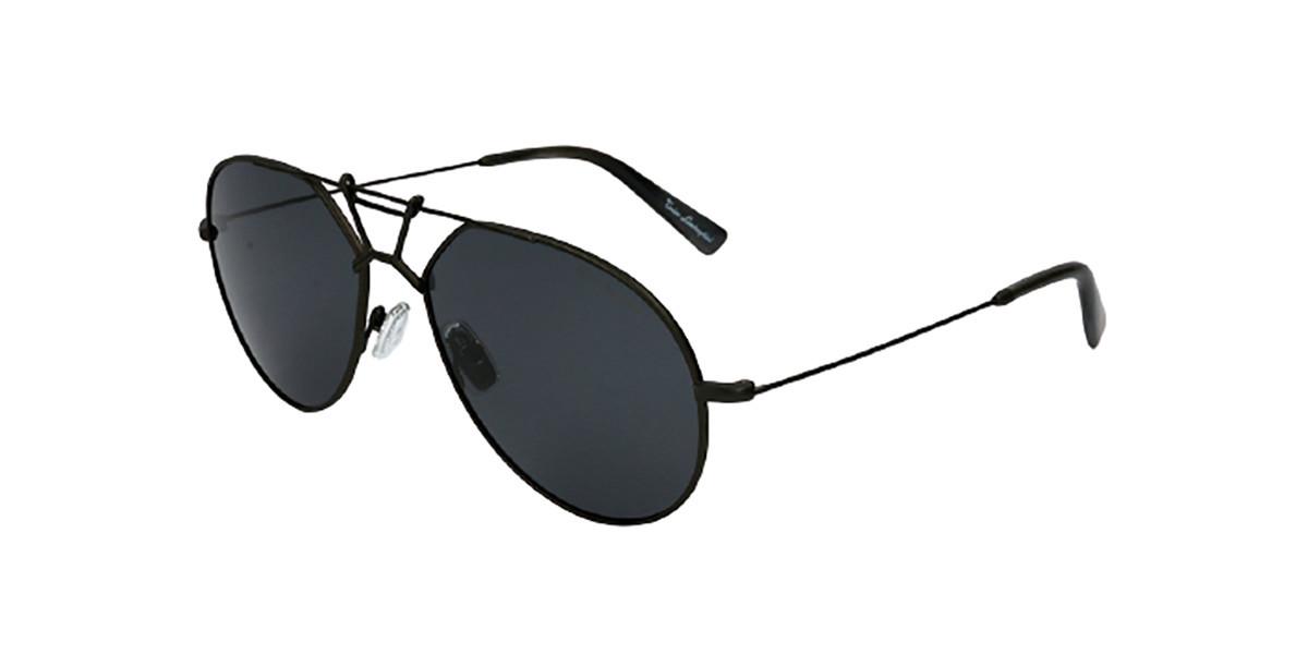 Tonino Lamborghini TL910S S03 Men's Sunglasses Black Size 58
