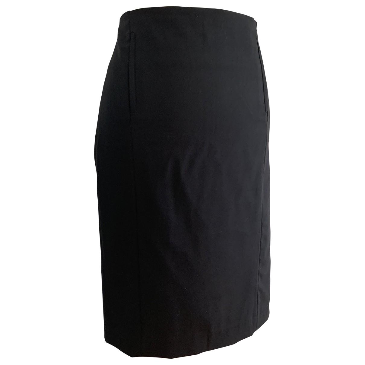 Joseph \N Black Wool skirt for Women 42 FR