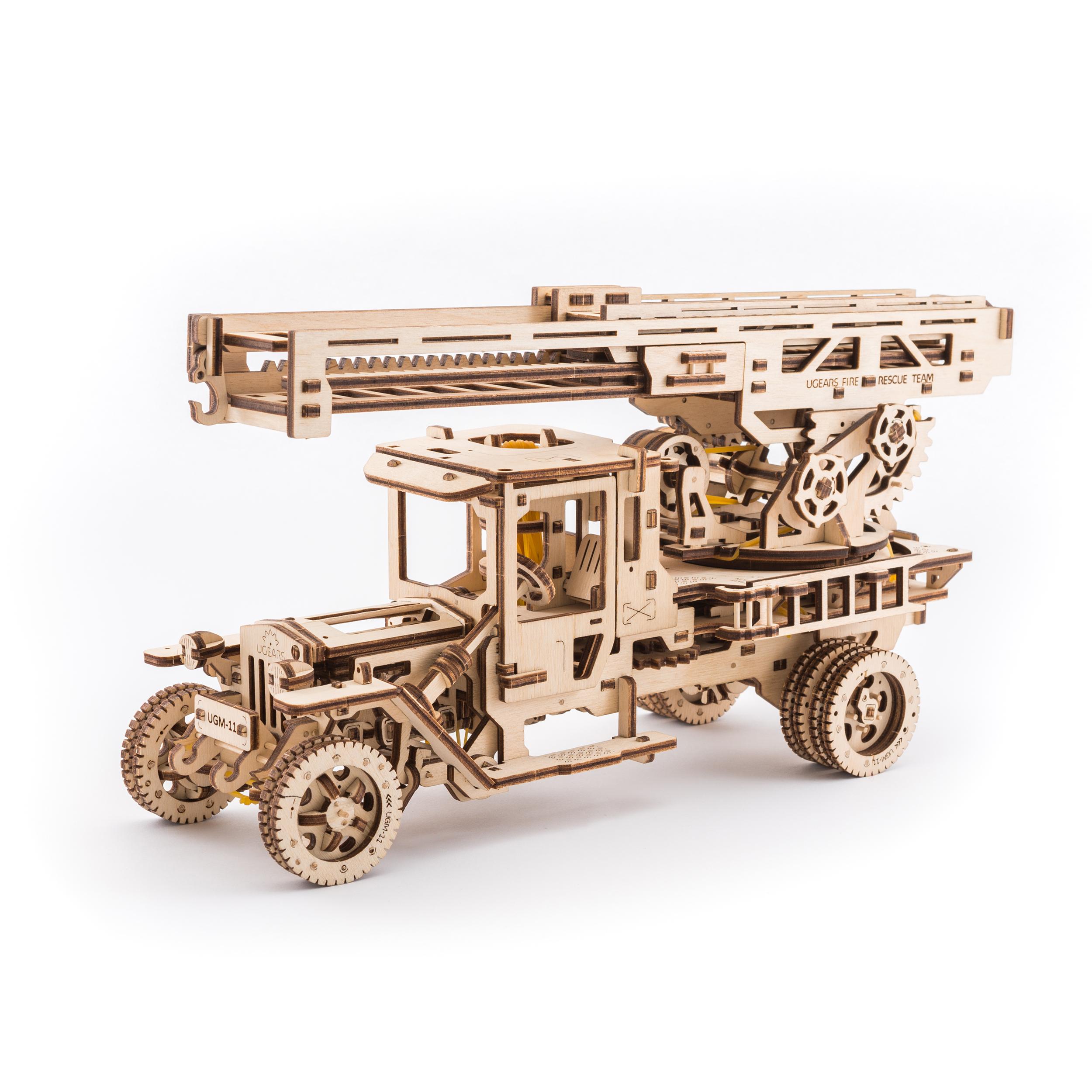 Fire Ladder Truck