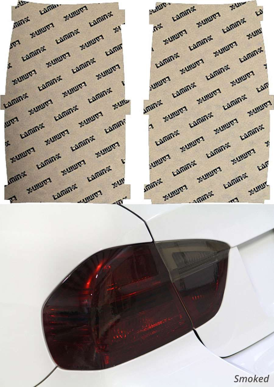 GMC Yukon 07-14 Smoked Tail Light Covers Lamin-X G209S