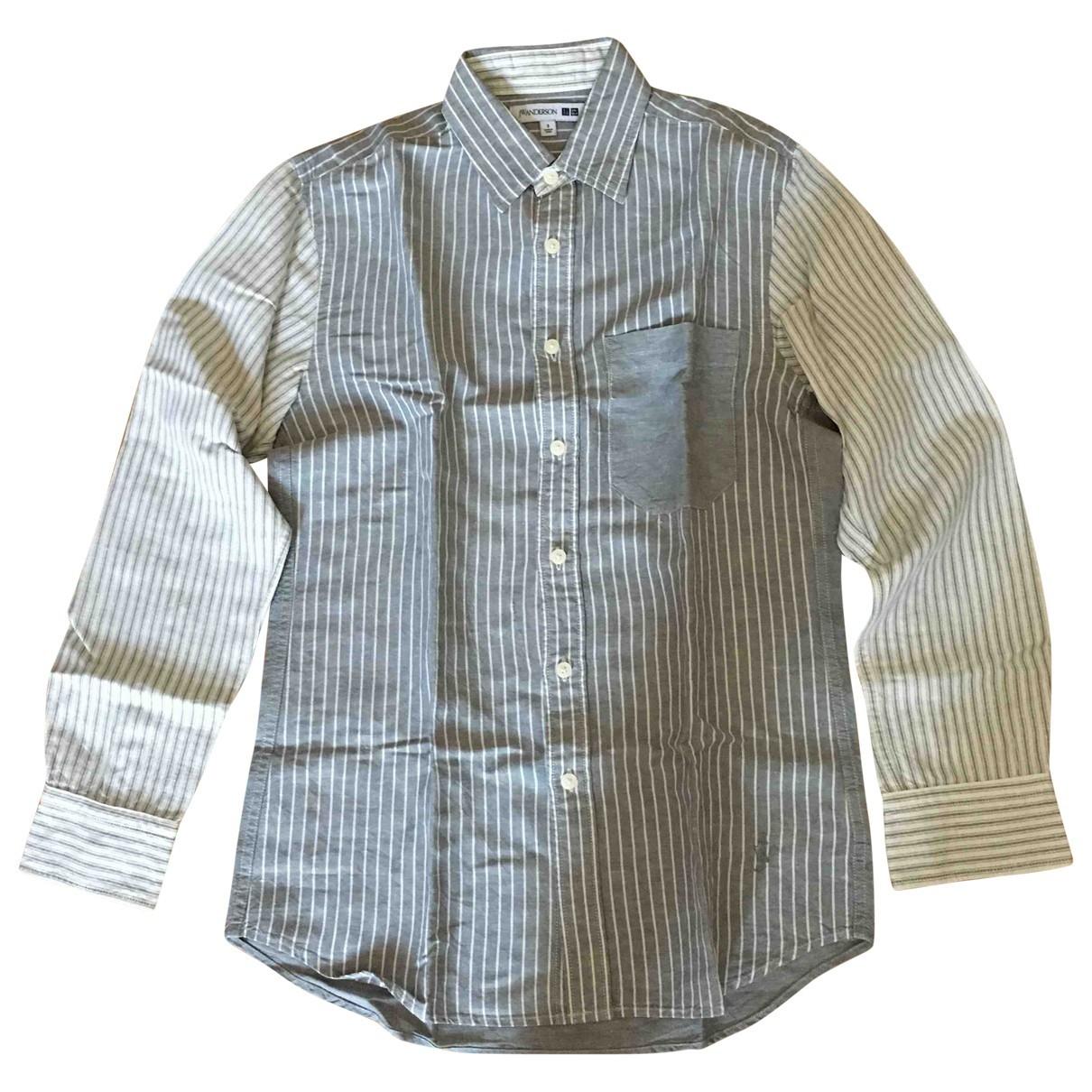 Uniqlo \N Grey Linen Shirts for Men S International