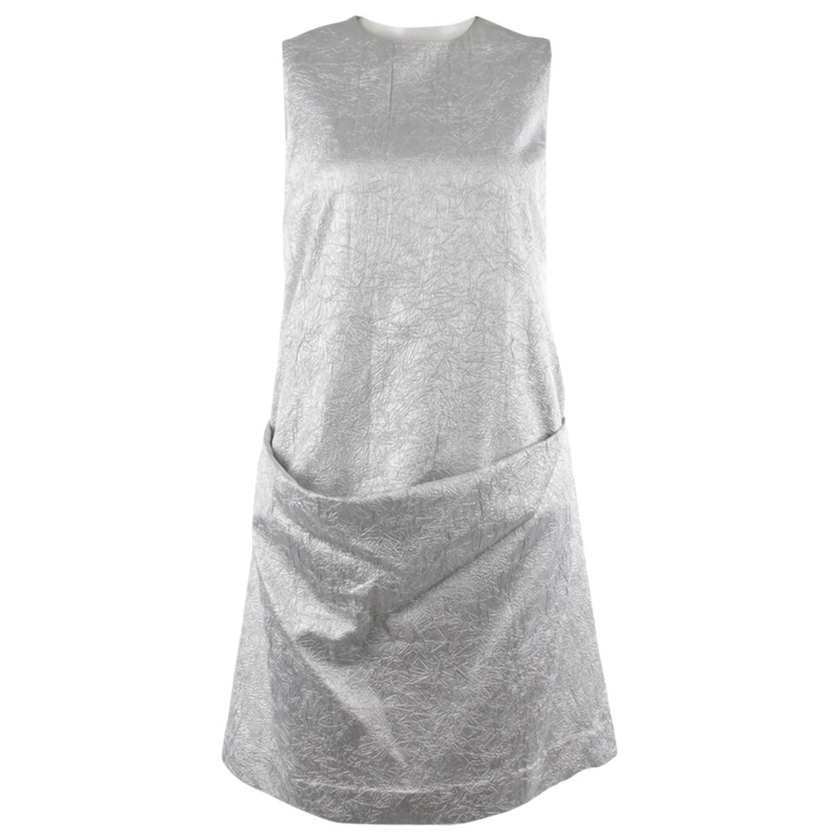 Michael Kors \N Kleid in  Metallic Polyester