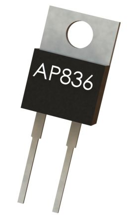 Arcol 10Ω Thick Film Resistor 35W ±5% AP836 10R J 100PPM