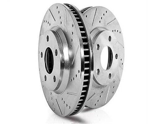 Power Stop EBR1032XPR Drilled & Slotted Brake Rotor Rear EBR1032XPR