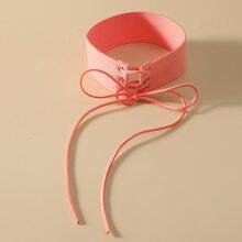 Halsband mit Band