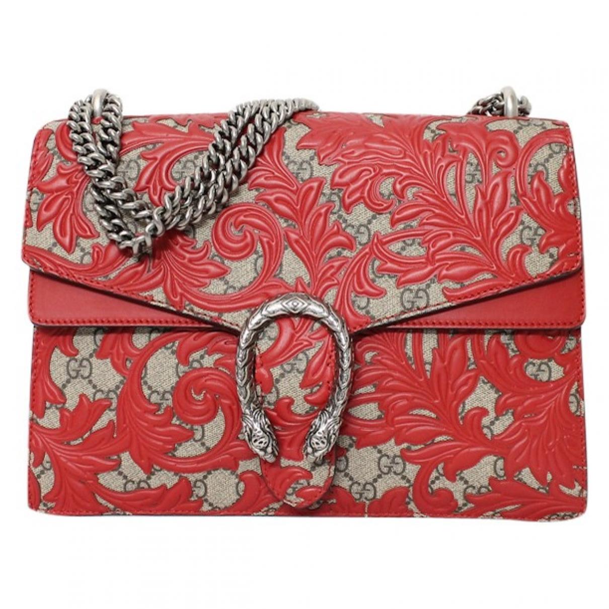 Gucci Dionysus Handtasche in  Rot Leder