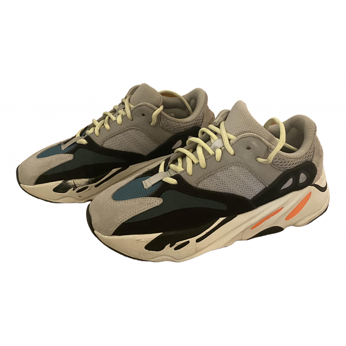 Yeezy X Adidas Boost 700 V1  Orange Rubber Trainers for Men 7 UK