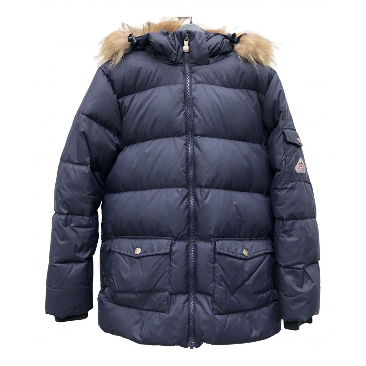 Pyrenex - Blousons.Manteaux   pour enfant - marine