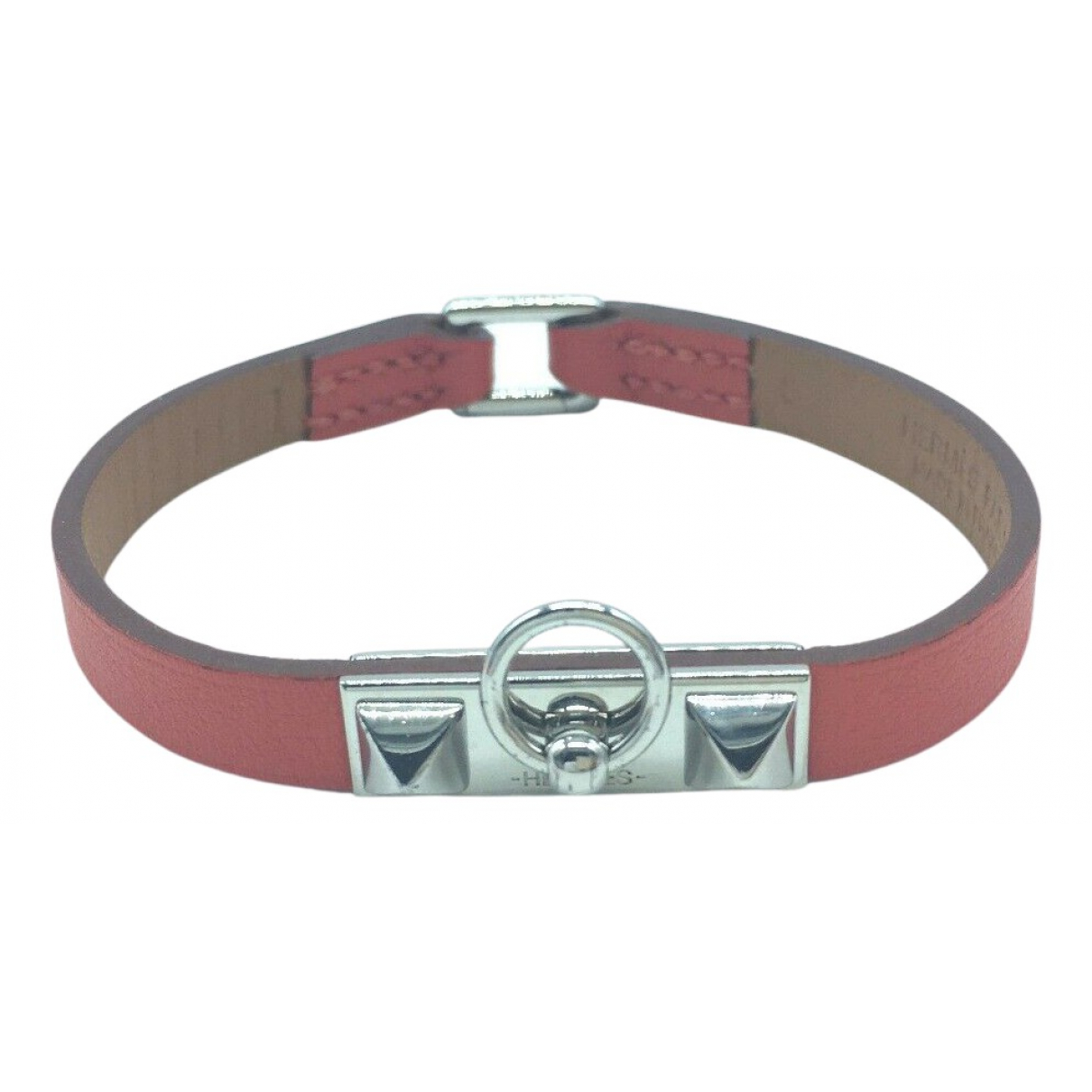 Hermès N Brown Leather bracelet for Women N