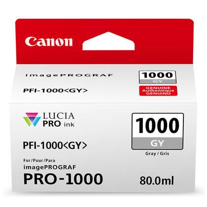 Canon PFI-1000GY Original Gray Ink Cartridge (0552C002)