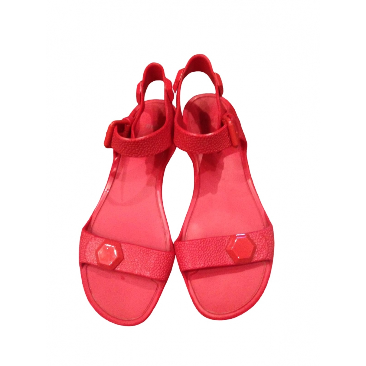 Givenchy \N Red Sandals for Women 35 EU