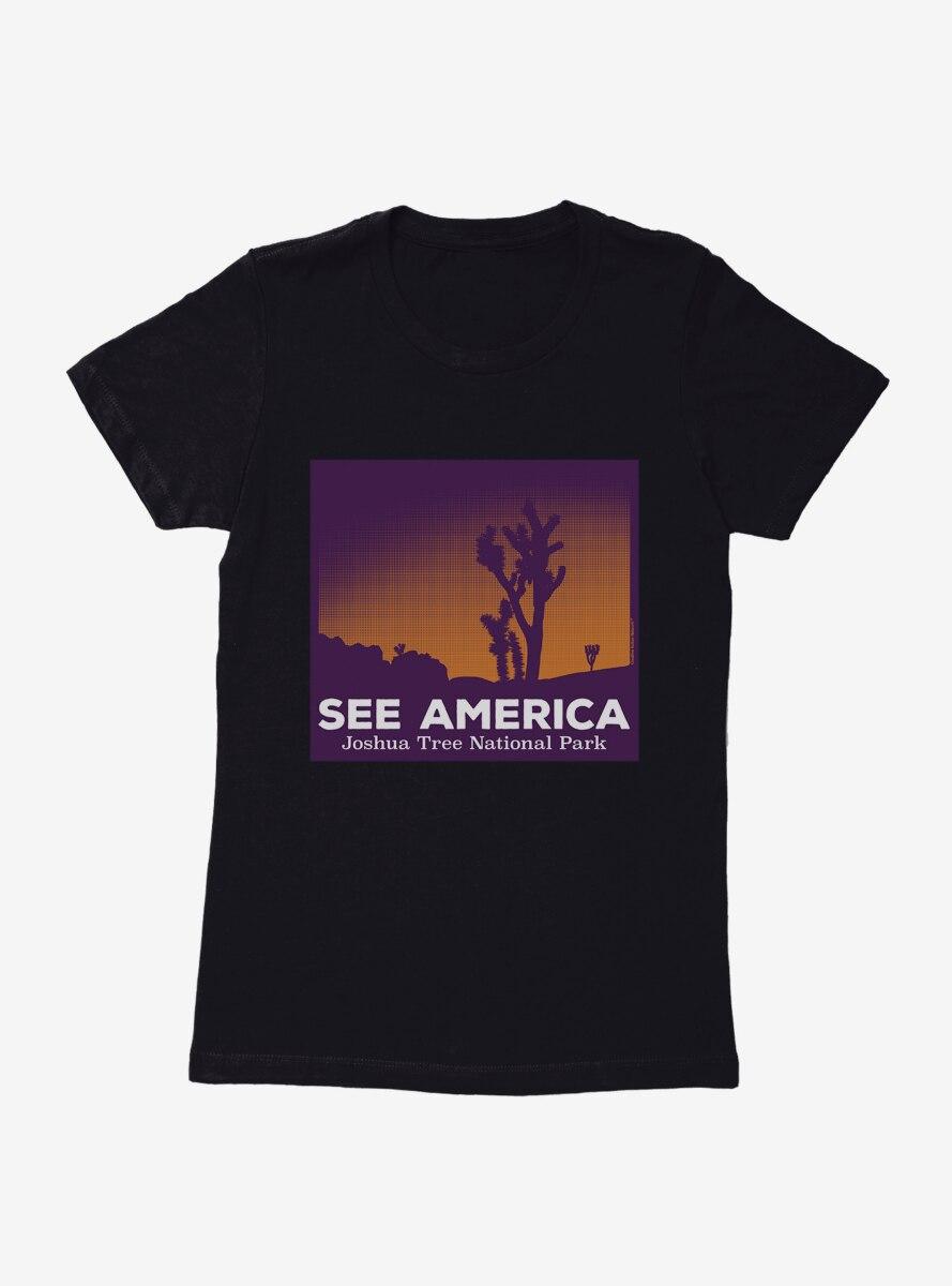 See America Joshua Tree National Park Womens T-Shirt