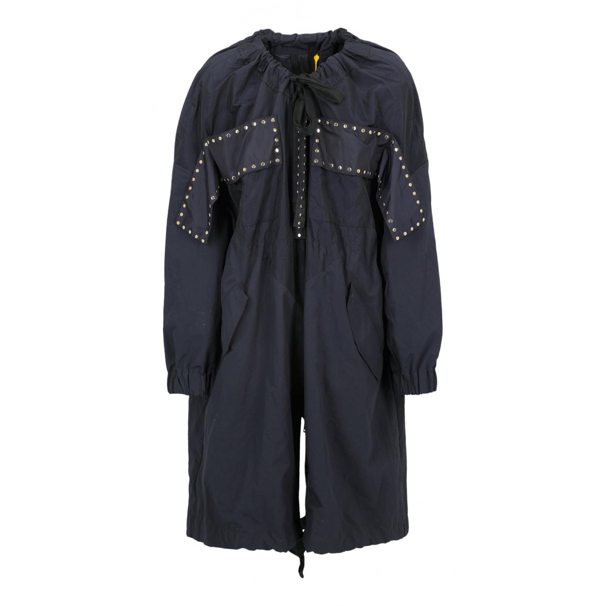 Moncler \N Blue coat for Women 38 IT