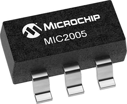 Microchip MIC2005-0.8YM6-TR, 1 Power Control Switch, Adjustable Current Limiting Power Diostribution Switch 6-Pin, (3000)