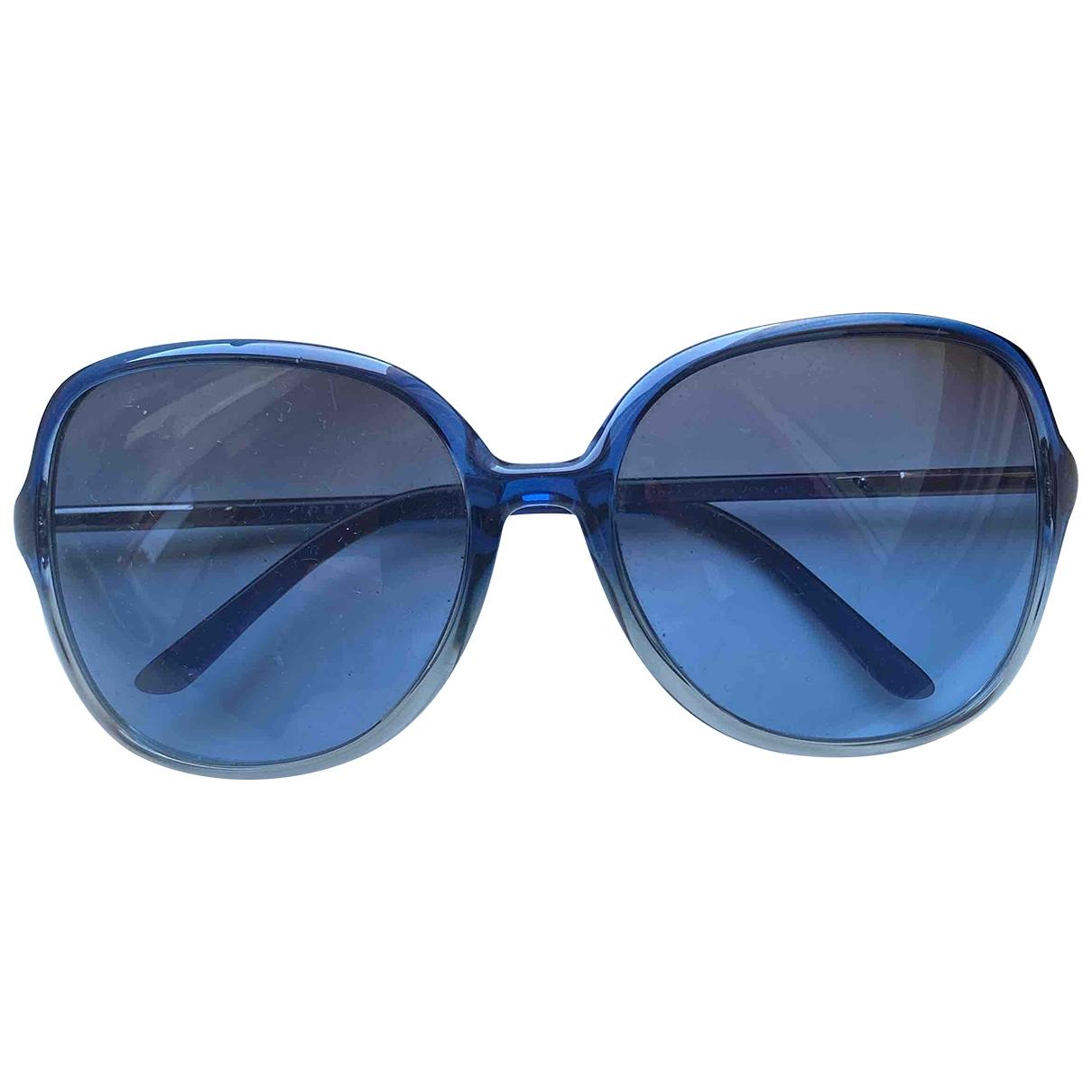Prada - Lunettes   pour femme - bleu