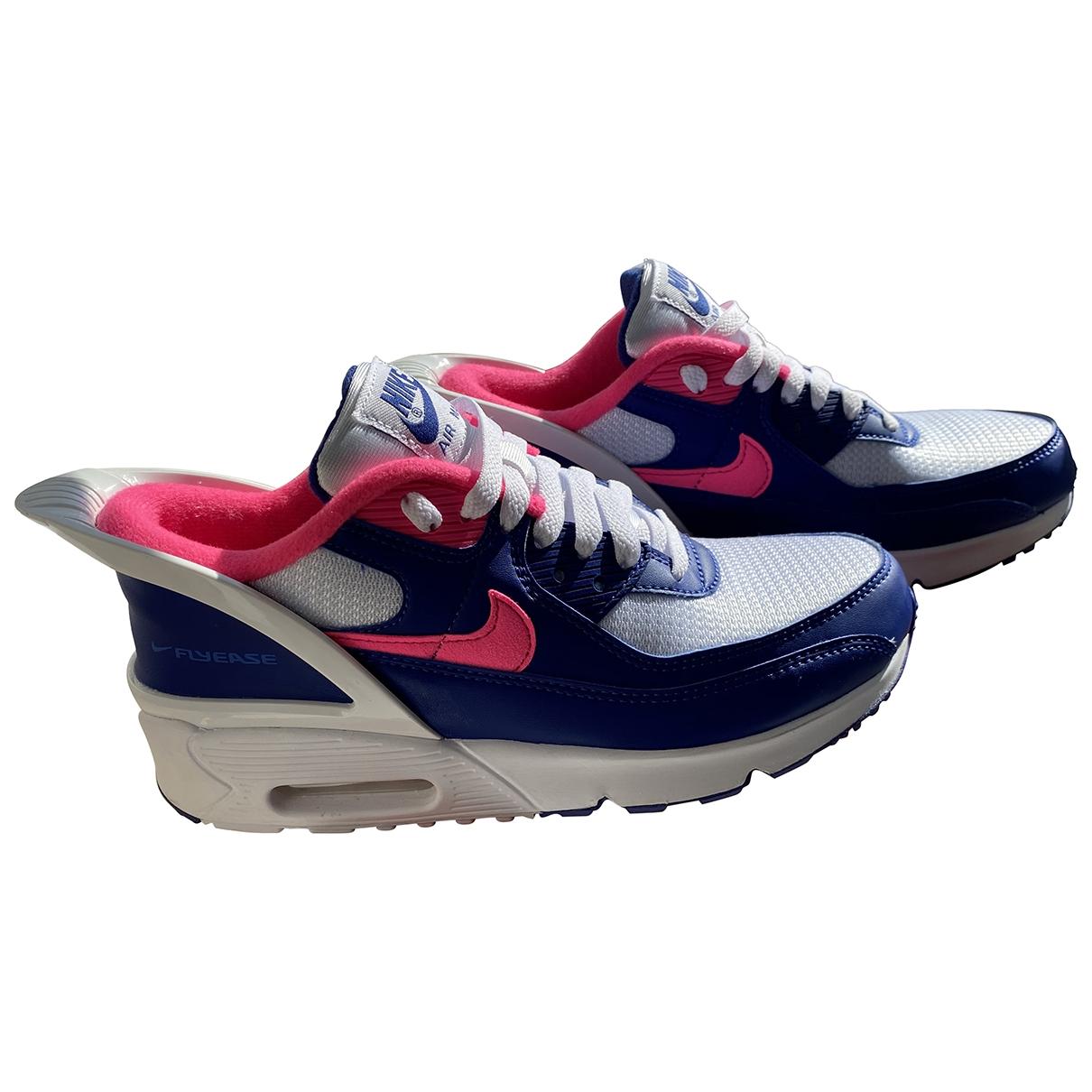 Nike - Baskets Air Max  pour femme en cuir - bleu
