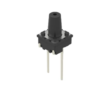 Alps Alpine Grey Button Tactile Switch, Single Pole Single Throw (SPST) 50 mA 5.8mm Through Hole (10)