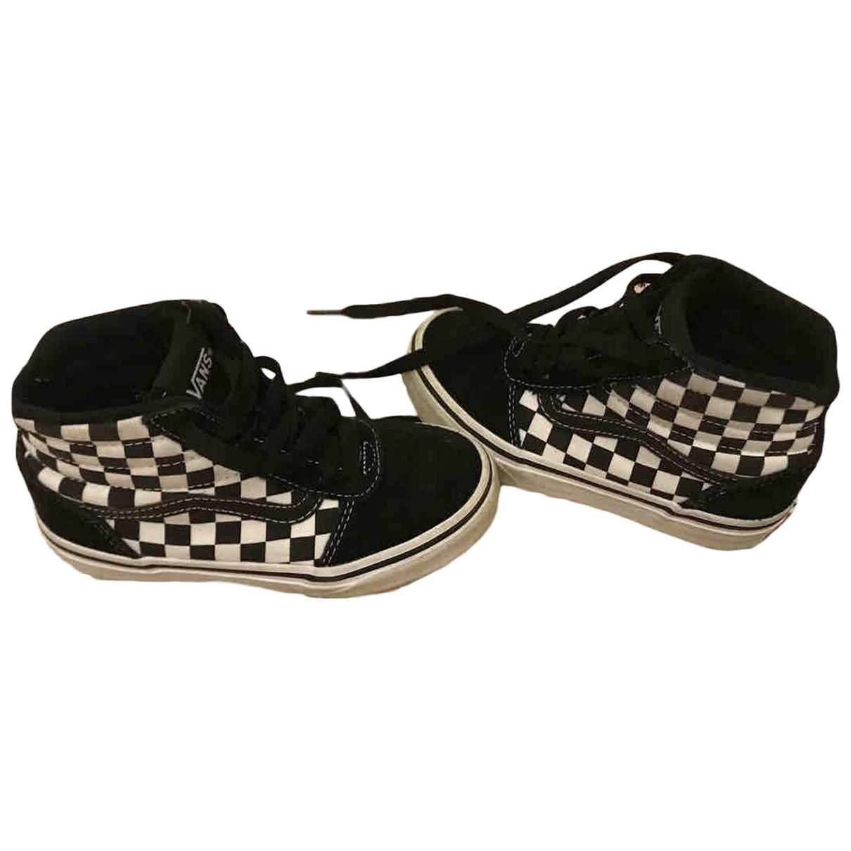 Vans - Baskets   pour enfant en velours - noir