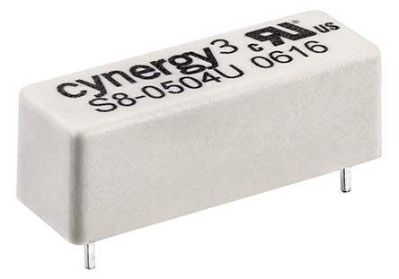 Cynergy3 SPST N/O Reed Relay, 24V Coil UL