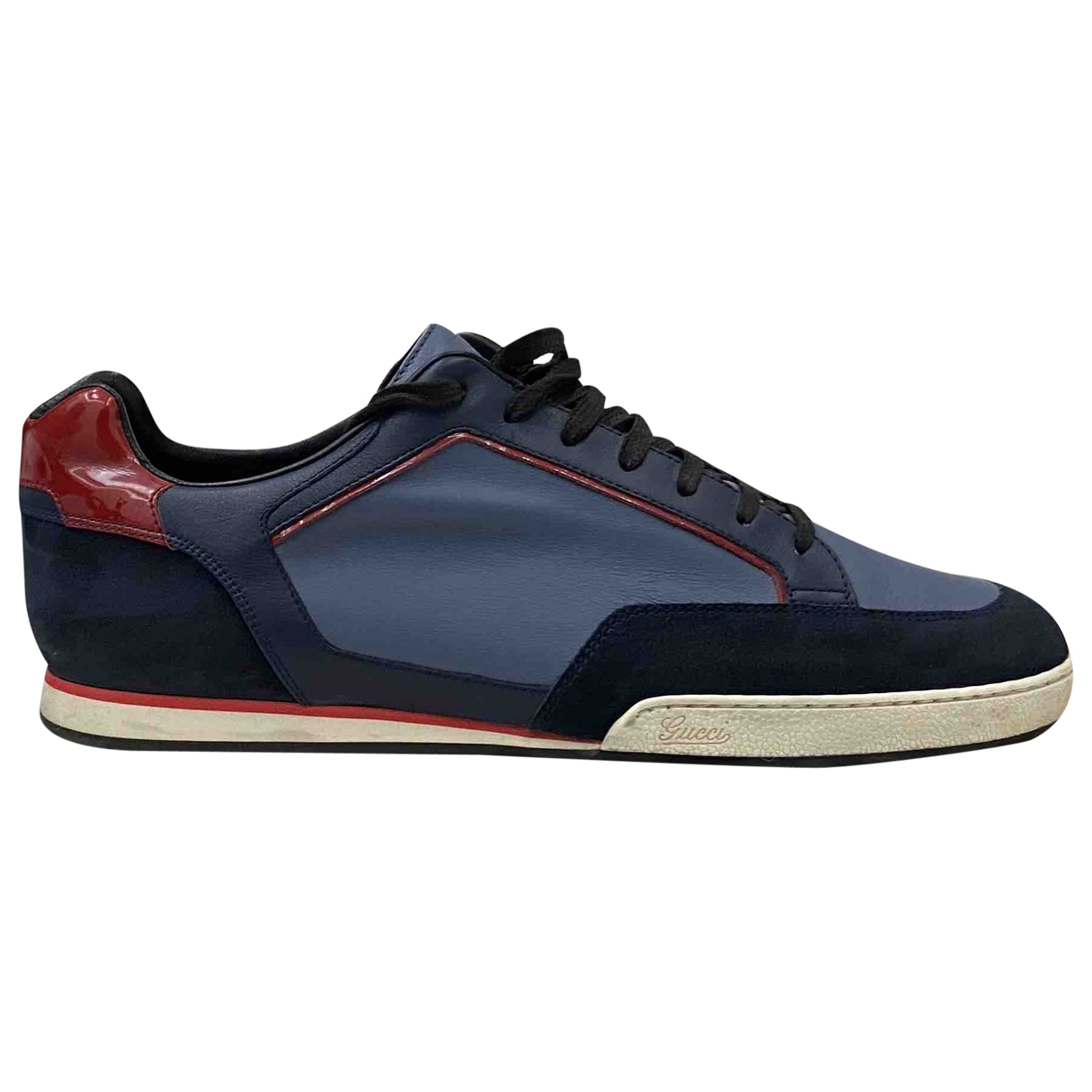 Gucci \N Multicolour Leather Trainers for Men 10.5 UK