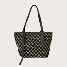 Graphic Pattern Tote Bag