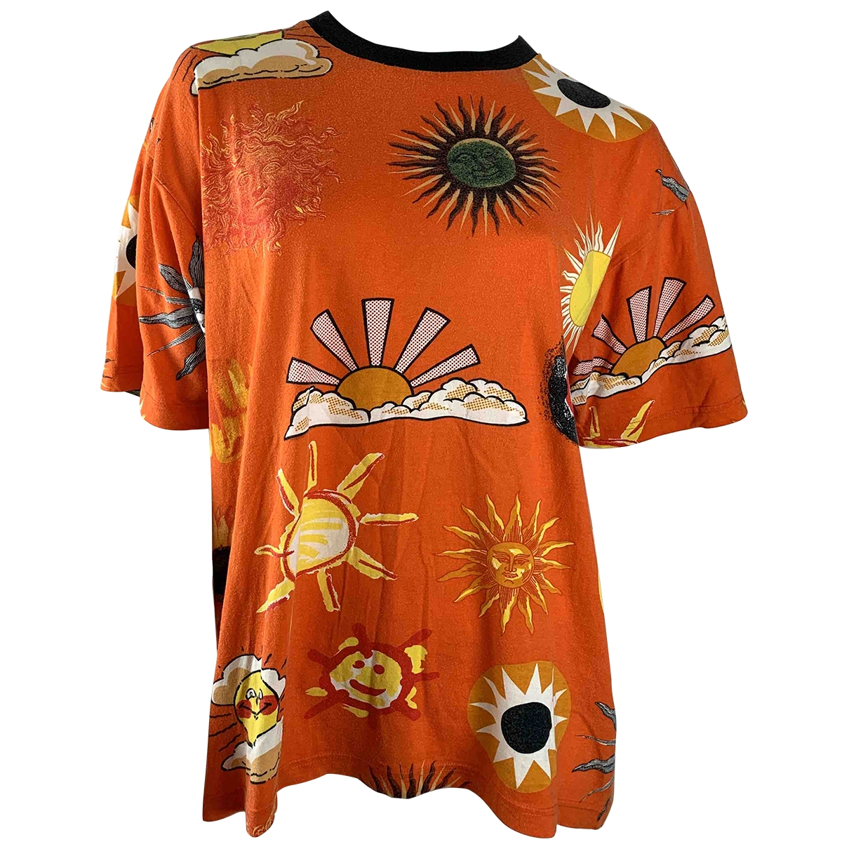 Moschino Cheap And Chic \N Top in  Orange Baumwolle