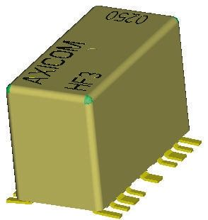 TE Connectivity SPDT PCB Mount, High Frequency Relay 12V dc
