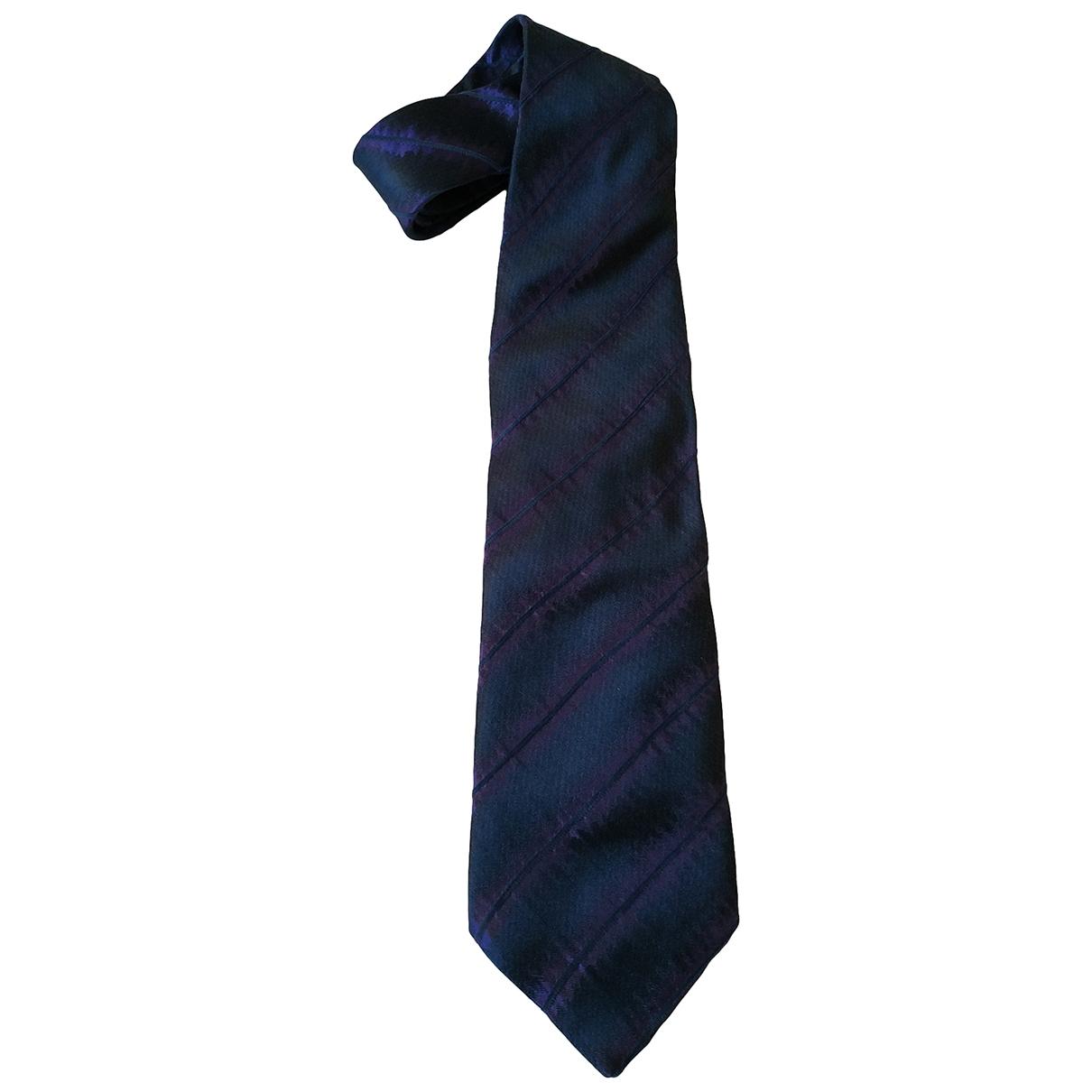 Kenzo \N Krawatten in  Blau Seide