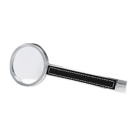 Natico Magnifier with Leather Trim, One Size , Gray