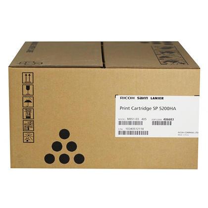 Ricoh 406683 cartouche de toner originale noire