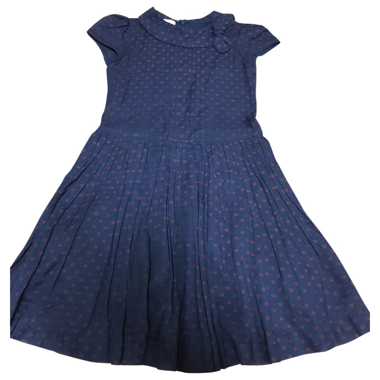 Gucci \N Navy Cotton dress for Kids 6 years - up to 114cm FR