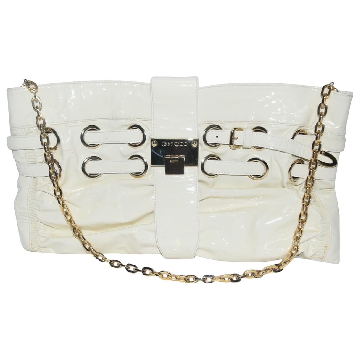 Jimmy Choo \N White Patent leather handbag for Women \N