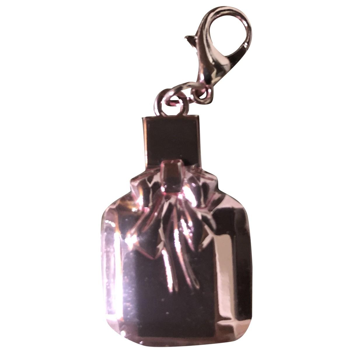Yves Saint Laurent \N Pink Metal Bag charms for Women \N