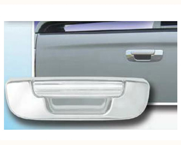 Quality Automotive Accessories ABS | Chrome Tailgate Handle Cover Kit Dodge Ram 1500 2003