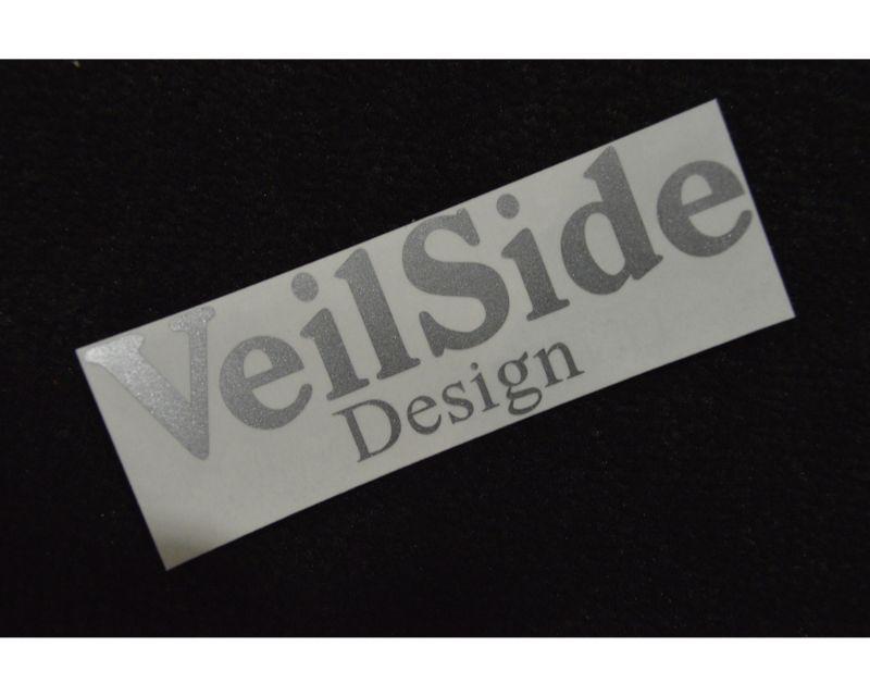 VeilSide Design Sticker Silver Size 40x120mm
