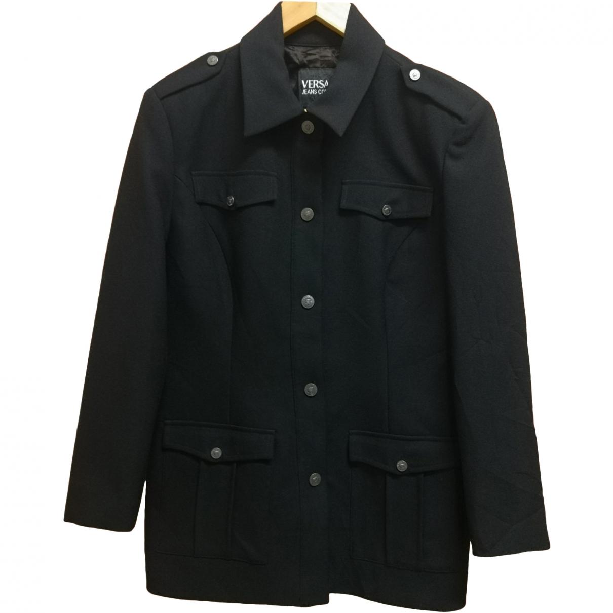Versace Jean - Manteau   pour homme - noir