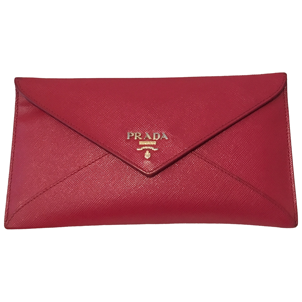 Prada \N Red Leather Purses, wallet & cases for Women \N