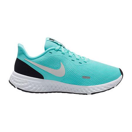 Nike Revolution 5 Womens Running Shoes, 9 Medium, Green